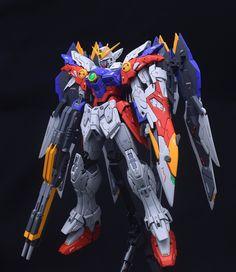 MG 1/100 Wing Gundam Proto Zero - Customized Build     Modeled by soju2562