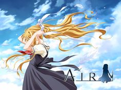 Air one of the shortest anime i have seen and the most sad ones at that.