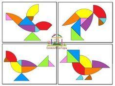 en farklı tangram şekilleri (4)
