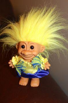 troll dolls | RUSS TROLL DOLL Cheerleader by greeber on Etsy