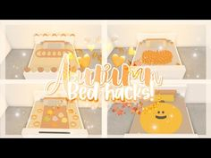 ♡Autumn/Fall Bed Hacks♡🍂🎃🍁 ▪︎adopt me building hacks▪︎ || Official Pineapples - YouTube Small House Design, Cool House Designs, Autumn Fall, Autumn Home, Cute Giraffe Drawing, Nail Art Designs Images, Pet Dragon, Cute Room Ideas, Roblox Pictures