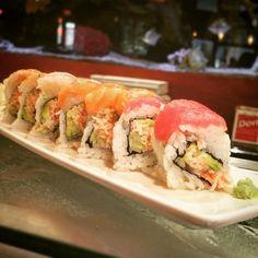 #RaimbowRoll #sushi @KonaGrill http://ift.tt/1TGbNzl