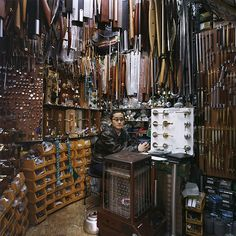 Shops shot by Korean photographer JeongMee Yoon