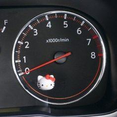 Seiwa Hello Kitty Car Accessory KT447 Cell Phone USB Socket Car Accessory