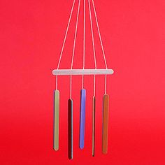 Simple Wood Crafts: Craft Stick Wind Chimes (via Parents.com)