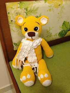 Ursinho amarelo!
