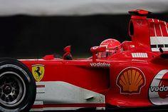 Michael Schumacher (GER) Ferrari F2005.  Formula One World Championship