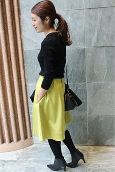 IENA(イエナ) 《予約》カラー フレアスカート◆ | スタイルクルーズ