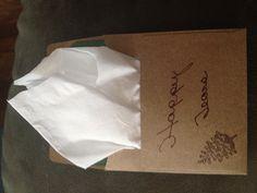 Happy Tear Envelopes!!