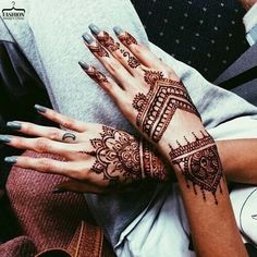 Mehendi #wow #simple #hand