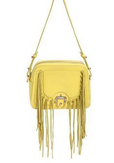 a8b959cad484 PAULA CADEMARTORI Didi Fringed Leather Shoulder Bag ($975) ❤ liked on  Polyvore Myriam Fares