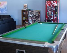 Brackley Beach Hostel-  The pool table, just one of the many activities to enjoy at Brackley Beach Hostel