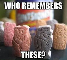 Flintstones! I remember the Dino ones too!