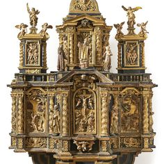 http://www.bamberger-antiquitaeten.de/wp-content/uploads/2017/03/1135_Altar.jpg Musealer Altaraufsatz — Friulanisch, Mitte 17. Jh.  neu auf www.bamberger-antiquitaeten.de