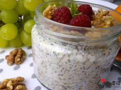 Oatmeal, Pudding, Breakfast, Healthy, Fitness, Food, The Oatmeal, Morning Coffee, Rolled Oats
