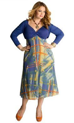 IGIGI by Yuliya Raquel Plus Size Elvissa Sun Dress 18/20