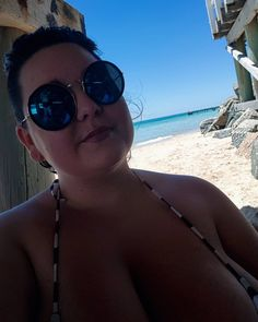Good Day, Selfie, Sunglasses, Beach, Photography, Instagram, Buen Dia, Fotografie, Have A Happy Day