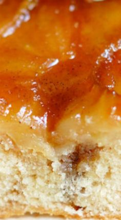 Apple Rum Upside Down Cake