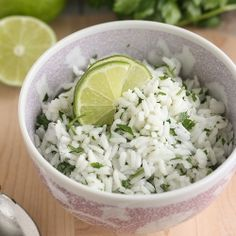 Cilantro-Lime Rice is the perfect side dish to any Mexican meal!