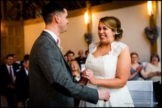 Andrea and Rob, married, at Rivervale Barn - http://www.rogerspictures.com/rivervale-barn-wedding-photography