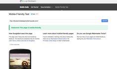 Diseño web, un paso más hacia el diseño responsive. Google introduce en los resultados de búsqueda para móviles un letrero de Mobile-friendly.