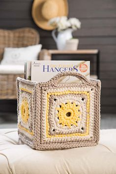 Ravelry: Five Squared Basket pattern by Agnes Russell