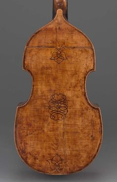 Bass viola da gamba | Museum of Fine Arts, Boston