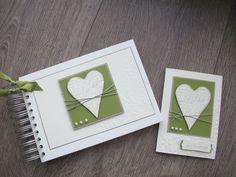 Stempelberg: Album und Karte zur Hochzeit