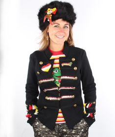 5a76bc38e01206 Bossche Oeteldonk dames uniformjas gepimpt bestellen bij Hoofs