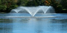 Along with fountains, diffused aeration is among the best and affordable ways to aerate stagnate water. For deeper water diffused air works best and for shallow ponds fountains work best.
