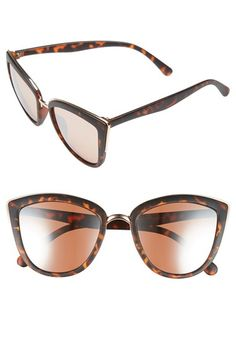 IN BLACK!!  Free shipping and returns on BP. 55mm Metal Rim Cat Eye Sunglasses at Nordstrom.com. Polished metal trim highlights the flirty cat-eye silhouette of lightweight sunglasses featuring gradient lenses.