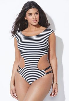 d0a7b48c603 11 Best Plus Size Swimwear images in 2019 | Rachel roy, Swimsuits ...
