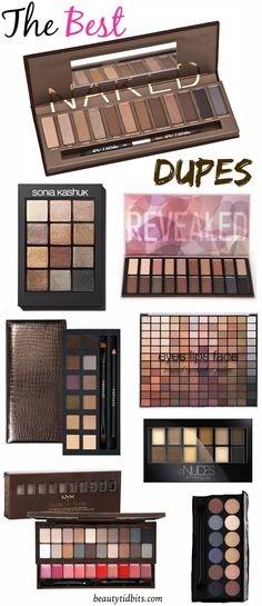 7 Affordable Dupes For Urban Decay Naked Palette Looking for a near-perfect Naked palette dupe? Check out these 7 budget-friendly dupes for Urban Decay's Naked palettes that you should try out! Skin Makeup, Makeup Brushes, Beauty Makeup, Makeup Geek, Makeup Usa, Mod Makeup, Beauty Tips, Sleek Makeup, Make Up Dupes