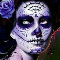 Die 20 besten bilder von mexikanische totenmaske artistic make up halloween ideas und - Mexikanische totenmaske schminken ...
