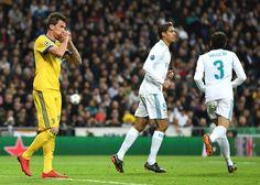 Mario Mandzukic of Juventus reacts during the UEFA Champions League Quarter Final Second Leg match between Real Madrid and Juventus at Estadio Santiago Bernabeu on April 11, 2018 in Madrid, Spain.