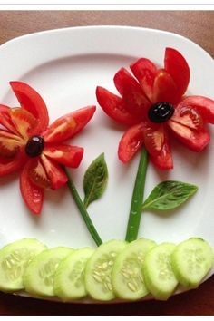 Food art for kids vegetables ideas for 2019 Fruit Decorations, Food Decoration, Cute Food, Good Food, Yummy Food, Healthy Food, Kreative Snacks, Deco Fruit, Food Art For Kids