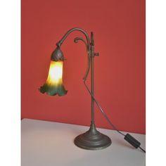 Lámpara sobremesa Tulipa Cristal #Ambar #Muebles #Deco #Interiorismo #Outlet | http://www.ambar-muebles.com/lampara-sobremesa-tulipa-cristal.html