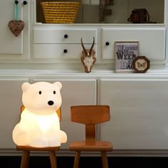 Nanuk bear lamp for kids from Design from Paris