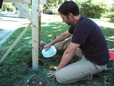 How to Install a Post and Mailbox : How-To : DIY Network