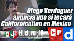 Diego Verdaguer anuncia que sí tocará Californication en México