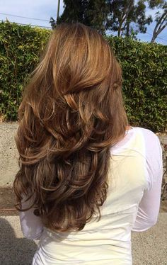 Long Wigs Lace Hair Frontal Long Red Wig Real Hair - ⭒ h a i r - Hair Styles 2016, Curly Hair Styles, Hair Cut Styles, Long Layered Haircuts, Layered Hairstyles, Medium Hairstyles, Haircuts For Long Hair With Layers, Latest Hairstyles, Long Haircuts For Women