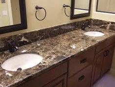 emperador granite bathroom - Google Search