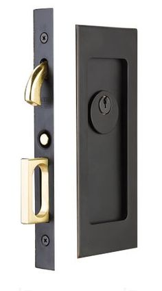 Keyed Pocket Door Locks And Sliding Door Track Including Lockwood Cavity  Lock