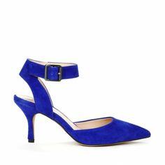 D'Orsay heels - Olyvia - Crystal Blue