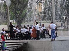 concierto en el Parque del Este; Caracas, Venezuela