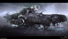 Alien Isolation concept art 05 by bradwright.deviantart.com on @deviantART