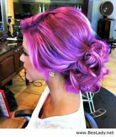 Interesting hair colour - BeaLady.net