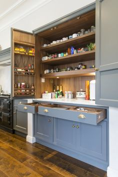 p/kitchen-details-woodwork-kitchens-handmade-furniture - The world's most private search engine Kitchen Pantry Design, Kitchen Cabinetry, Kitchen Paint, New Kitchen, Kitchen Interior, Kitchen Storage, Kitchen Dining, Kitchen Decor, Kitchen Dresser