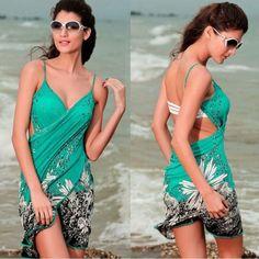 Women's Summer Bikini Swimwear Cover Up Beach Dress | PinPoint