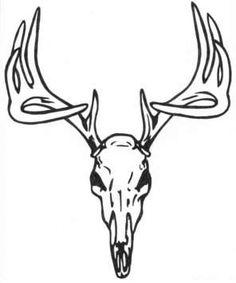 dear skull deer skull image vector clip art online royalty free rh pinterest com buck deer skull clipart buck deer skull clipart